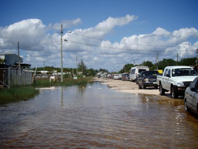 BZ Flooded Roads