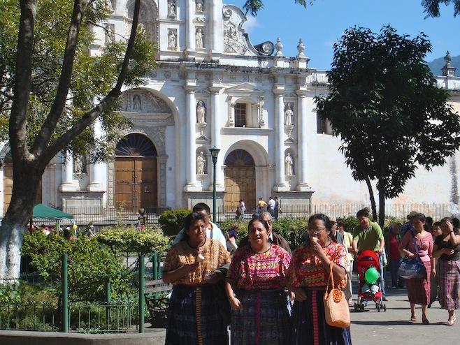 GUA Antigua Parque Central