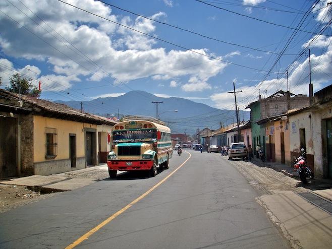 GUA Guatemala Chicken Bus