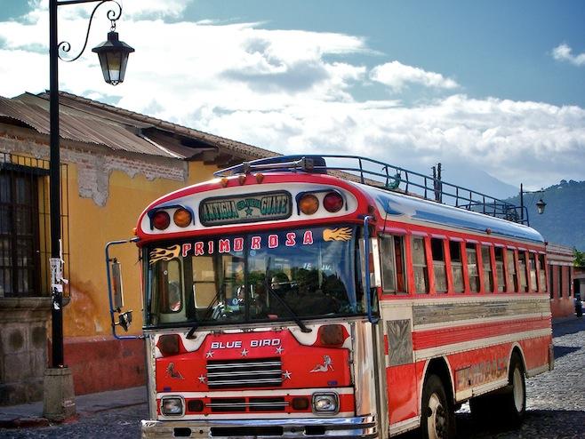 GUA Guatemala Chicken Bus2