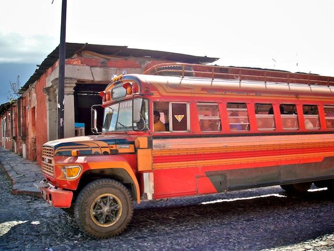 GUA Guatemala Chicken Bus3