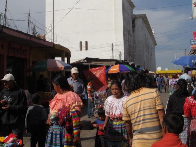 GUA Quiche Market