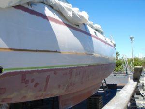 24 starboard hull