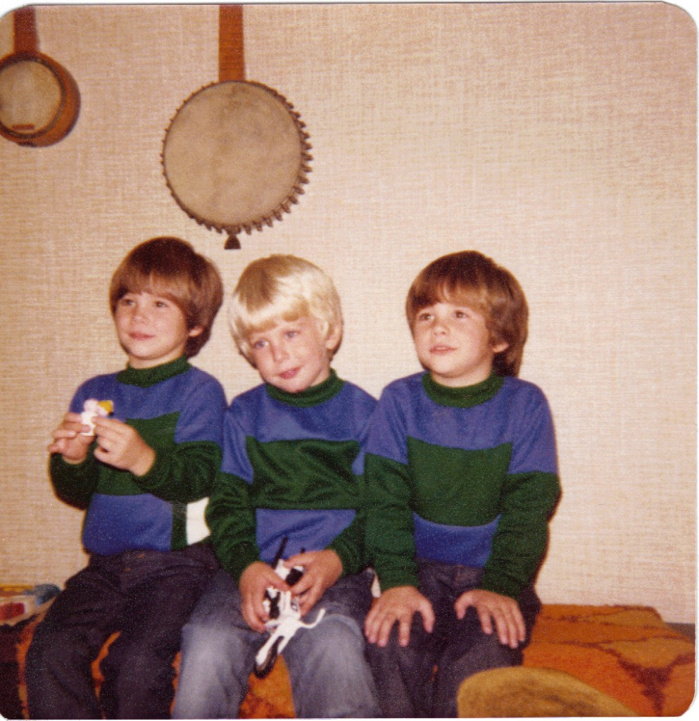 1977 Pat with Twins